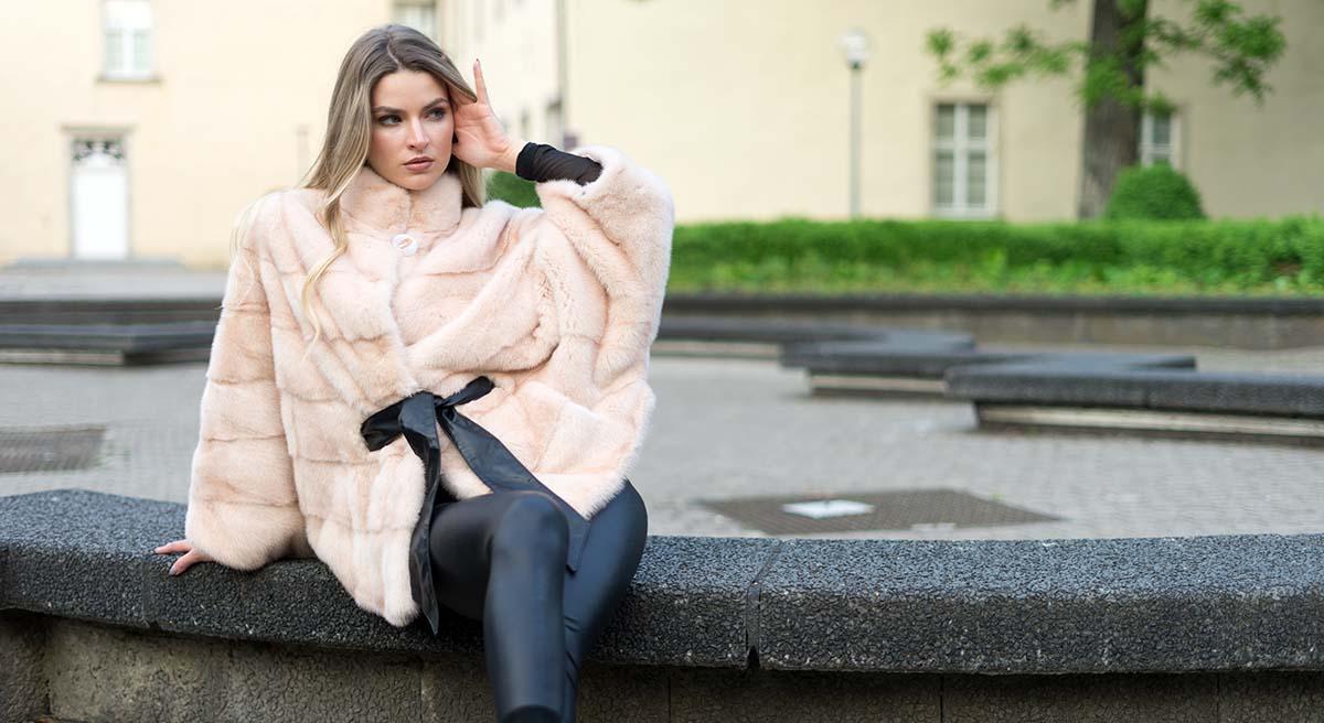 Pelzjacke Echtfell von Pelzchen Mode