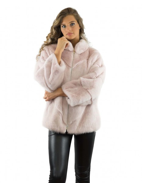 Nerz Jacke Nerz Mantel Mink Coat Mink Jacket Echtfell Echtpelz Realfur Real Fur Mink