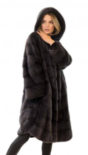 Nerzjacke Mink coat Minkcoat Nerz Jacke Echtesfell Winterjacke mit Pelz Instafashion