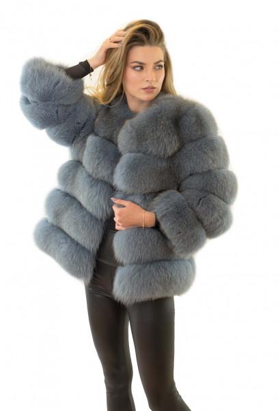 Echtfell Jacke aus Fuchs Echtpelzjacke Echtfelljacke aus Fuchs